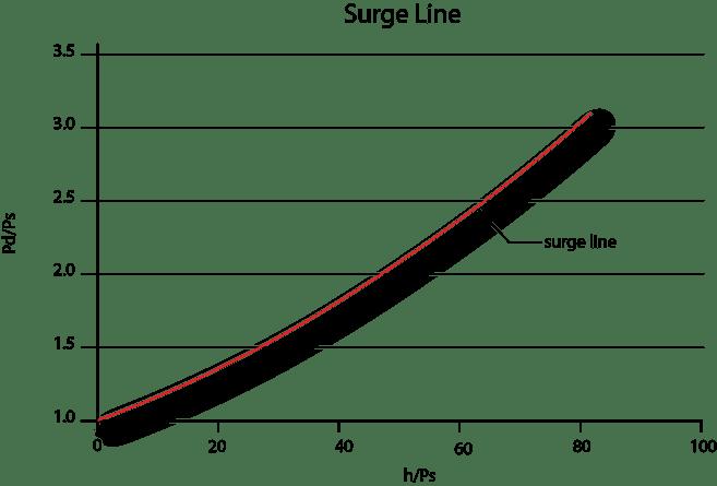 surge line